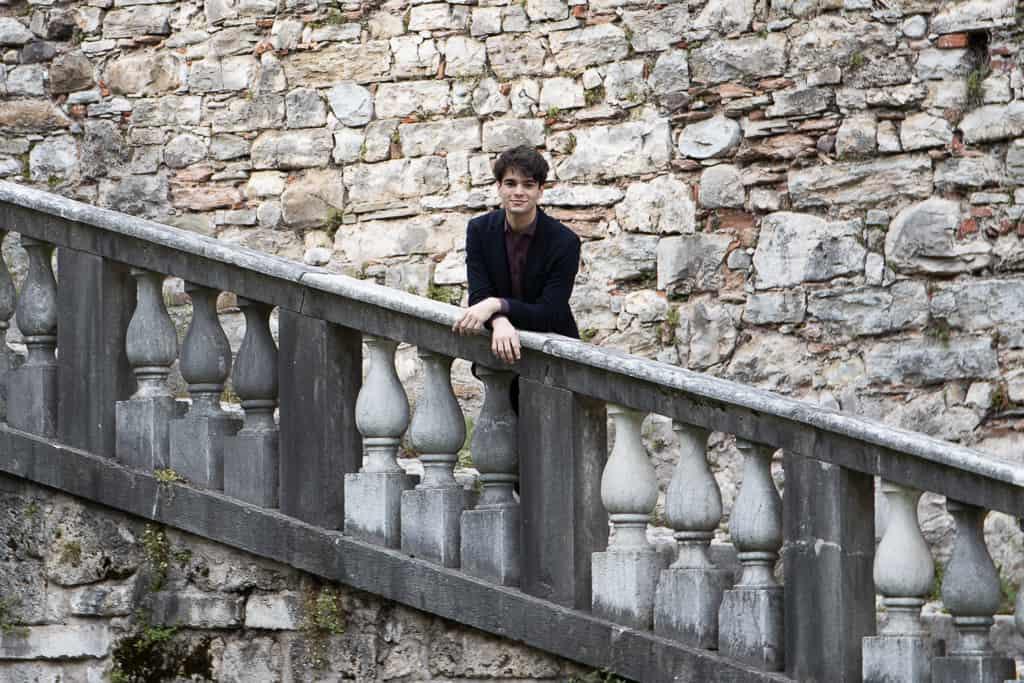 Elia Cecino pianista italiano